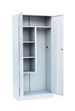 Шкаф для уборочного инвентаря 2-х створчатый