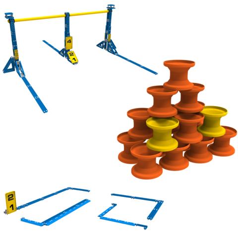 VEX: Игровые элементы для соревнований VEX IQ Challenge 228-5682 — Full Field & Game Element Kit — Векс Роботикс