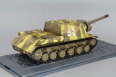 Tank ISU-152 1943 1:43 DeAgostini Tanks. Legends Patriotic armored vehicles #7