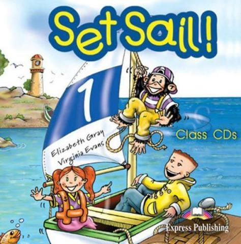 Set Sail 1. Class Audio CDs. (set of 2). Beginner. Аудио CD для работы в классе
