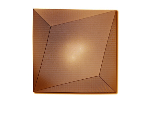 replica Axo Light Ukiyo wall and ceiling lamp (brown)