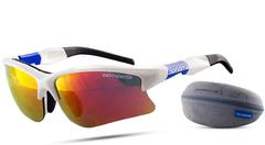 Очки лыжные Noname Wolfracing Очки Wolfracing, белый/синий