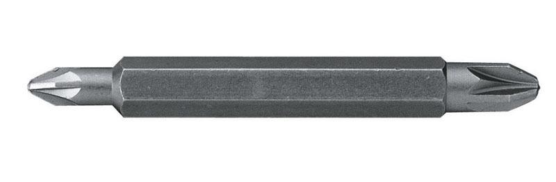 Вставка шестигранная Pz1-Pz2 двухсторонняя  10шт    Stanley 1-68-786