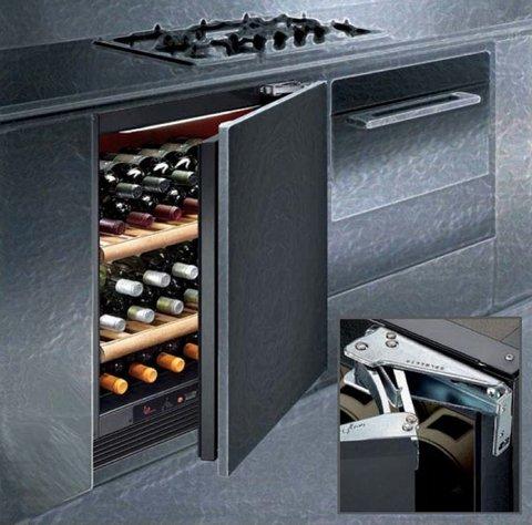 Встраиваемый винный шкаф IP Industrie CIS 140 CF X