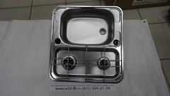 Варочная панель газовая с раковиной DOMETIC SMEV MO927L ,2 конф., левая