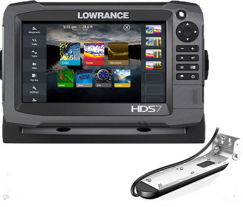 Комплект Lowrance HDS-7 + TotalScan Skimmer