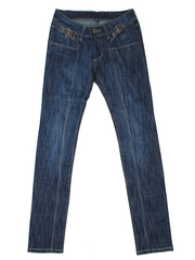 5552 джинсы женские, синие