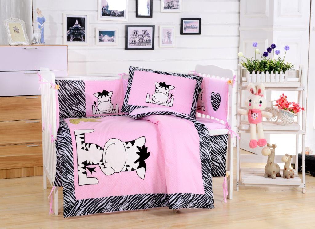 Постельное белье  в детскую кроватку Комплект постельного белья  в кроватку с бортиком ТМ Вальтери Россия DK-10 dk-10.jpg