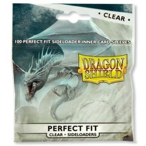 Протекторы Dragon Shield Perfect Fit Sideloaders - Clear (100 шт.)