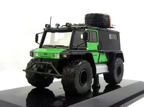 ATV biaxial Petrovich-204-50 4x4 2014 black-green DIP 1:43