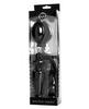 Надувной анальный расширитель с обхватом мошонки XR Brands Exxpander Inflatable Plug  (10 х 17 см.)