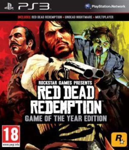 PS3 Red Dead Redemption - Game of the Year Edition (английская версия)