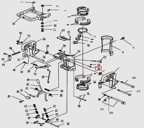 Шпилька для лодочного мотора T9.8 Sea-PRO (11-24)