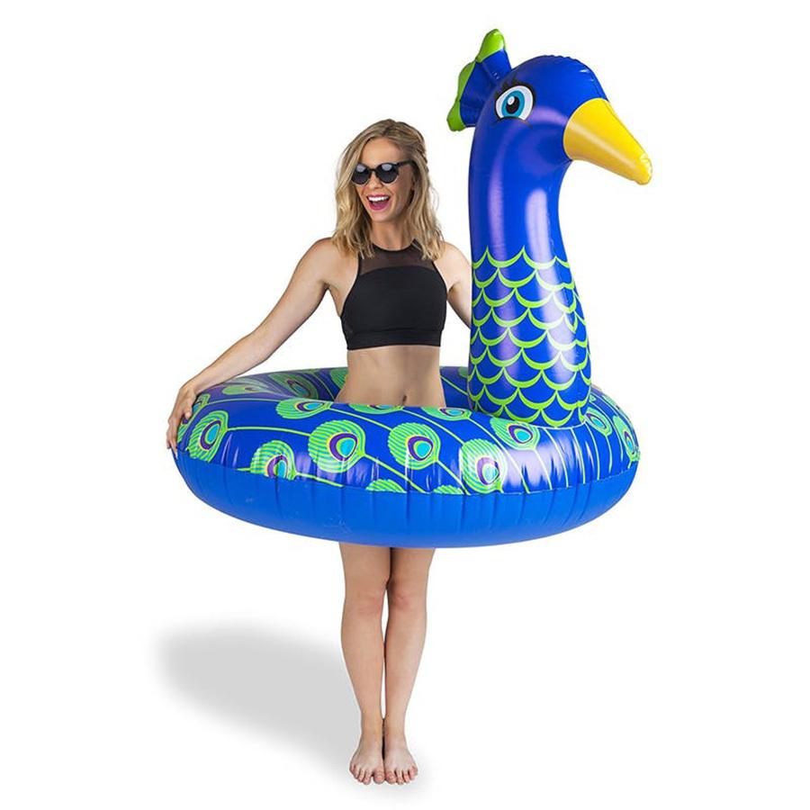 Круг надувной взрослый для плавания peacock павлин BigMouth BMPF-PC | Купить в Москве, СПб и с доставкой по всей России | Интернет магазин www.Kitchen-Devices.ru