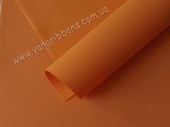 Фоамиран корейский экстра апельсин (07)  (уценка)
