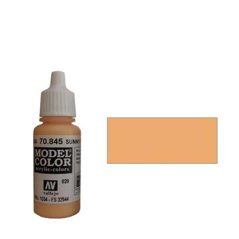 020. Краска Model Color Телесный Яркий 845 (Sunny Skin Tone) укрывистый, 17мл