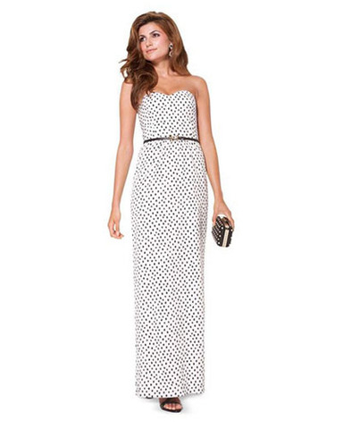 Выкройка Burda (Бурда) 6939 — Вечернее платье