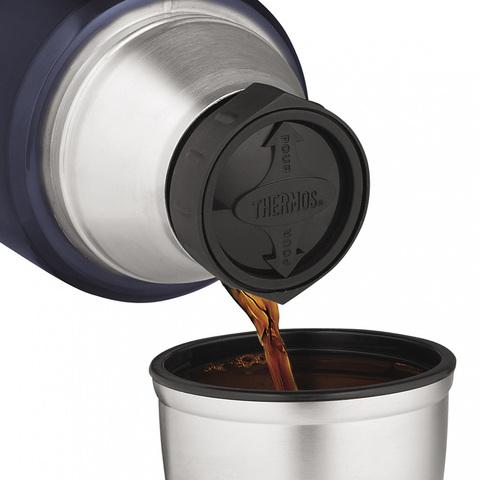 Термос Thermos King SK2020 (2 литра), черный