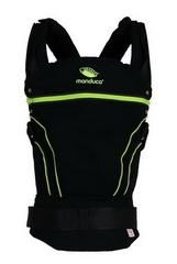 Слинг-рюкзак manduca BlackLine ScreaminGreen (зеленый) в комплекте с накладками NEW