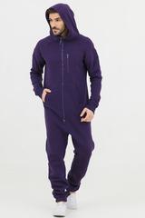 """Комбинезон """"SpaceSuit 2.0"""" мужской фиолетовый с начесом"""
