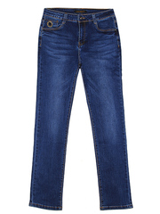 F7037 джинсы женские, синие