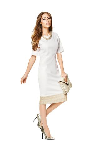 Выкройка Burda (Бурда) 6831 — Платье