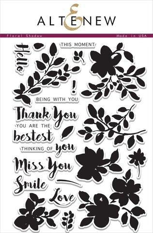 Набор штампов Floral Shadow Stamp Set