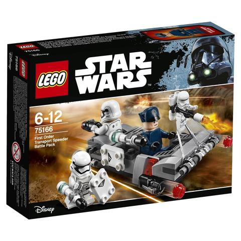 LEGO Star Wars: Спидер Первого ордена 75166 — First Order Transport Speeder Battle Pack — Лего Звездные войны Стар Ворз