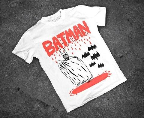 Футболка Бэтмен-Вампир - S