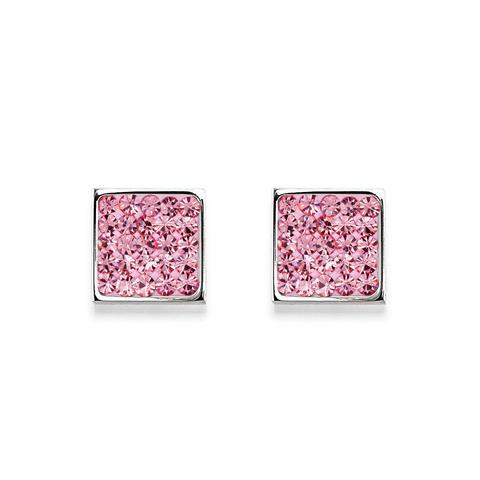 Серьги Coeur de Lion 0117/21-1900 цвет розовый