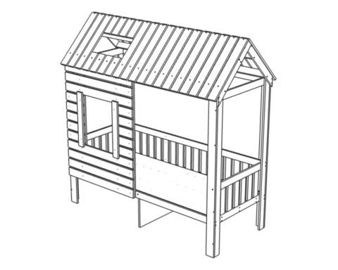 Кровать АМИ-2 с ящиками