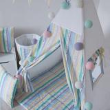 Подушка Colored Stripes цветные полосы