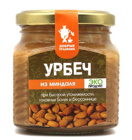 Урбеч из миндаля, GoodTraditions, 230 г