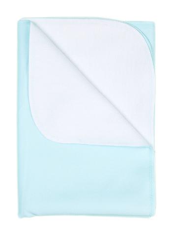 Непромокаемая фланелевая пеленка (Голубой)
