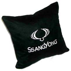 Подушка автомобильная с логотипом SSANG YONG