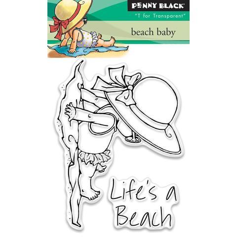 Набор штампов - Beach Baby