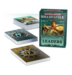 Warhammer Underworlds: Shadespire – Leader Cards (на русском языке)