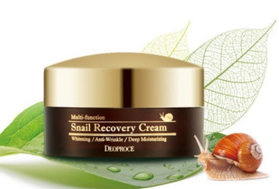 DEOPROCE Multi-Function Snail Recovery Cream, 100mlwq