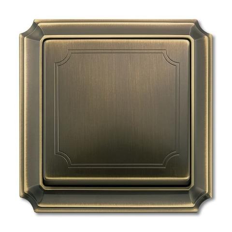 Рамка на 1 пост. Цвет Античная латунь. Merten. Antique System Design. MTN483143