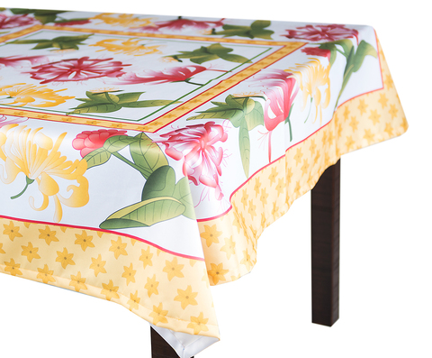 Скатерть 140x180 Blonder Home Spring желтая