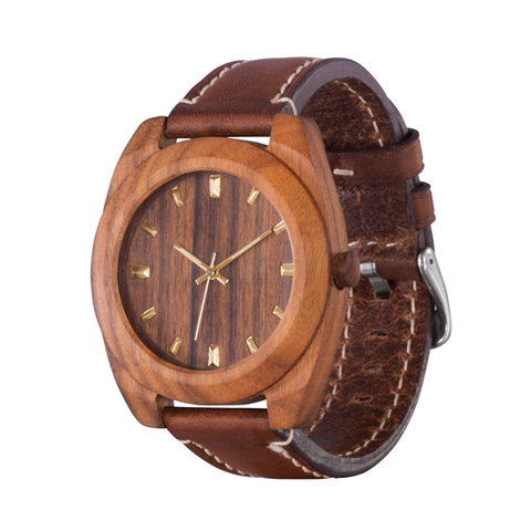 Часы из дерева AA Wooden Watches Классик Палисандр