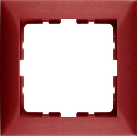 Рамка на 1 пост. Цвет Красный. Berker (Беркер). S.1. 10118962