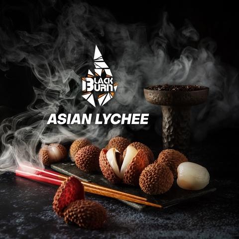 Табак Burn Black Asian Lychee (Личи) 200 г