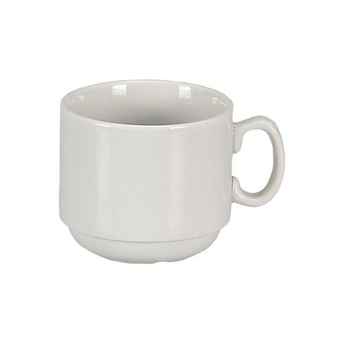 Чашка кофейная Мокко, фарфор белая 100мл (6С0138Ф34) C0138/1