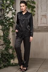 Комплект женский с брюками Черный Mia-Amore  AFRODITA АФРОДИТА 2166