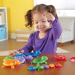 Учимся считать с игрой Забавные черепашки Learning Resources