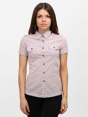 10-3177-1 рубашка женская, сиреневая