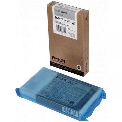 Картридж серый Epson C13T603700 для Stylus Pro 7800/9800/7880/9880 (220 мл)