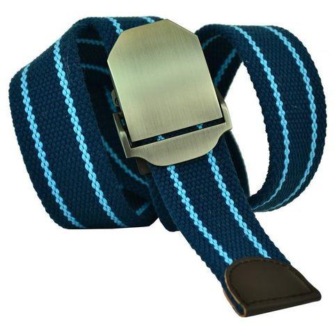 Ремень текстильный джинсовый из стропы 40Stropa-066