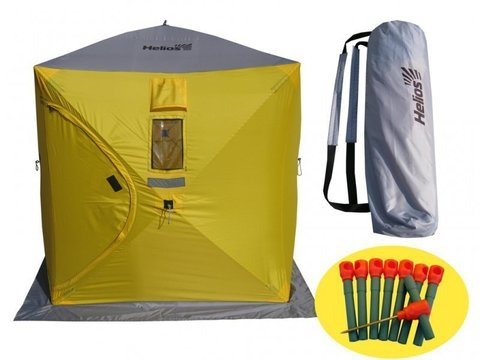 Палатка зимняя куб Helios 1,8х1,8м Тонар